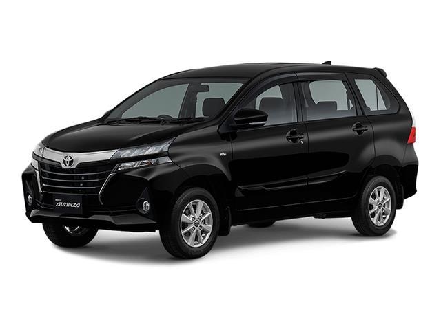 mobil baru Toyota Avanza 2019 berwarna hitam