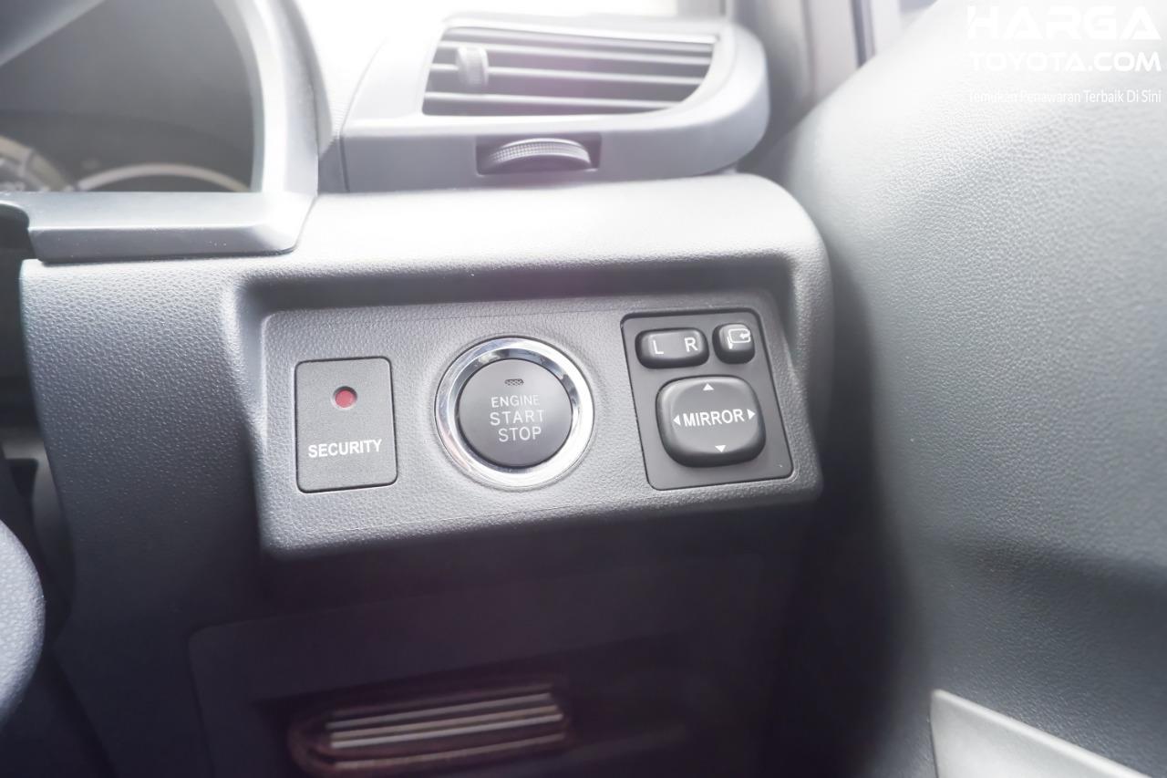 Gambar menunjukkan tombol start stop button Toyota Avanza Veloz