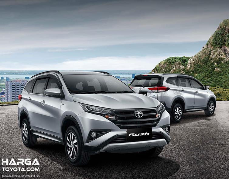 Gambar ini menunjukkan mobil Toyota Rush tipe G terbaru