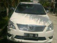 Toyota Kijang Innova G AT Tahun 2012 Automatic
