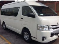 Toyota Hiace High Grade Commuter 2017 Van
