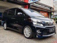 Toyota Vellfire Zg Tahun 2014 Black