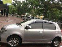 Jual Toyota Etios Valco 2014 silver Manual type G