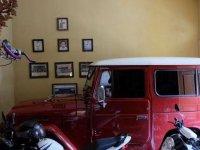 Jual Toyota Hardtop Land Cruiser BJ40 Merah Maroon 1982 Mulus Solar Diesel