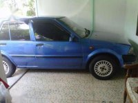 Jual Suzuki Starlet biru 1986