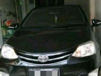 Jual Toyota Etios Valco 2013 hitam