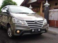 Jual cepat Toyota All New Kijang Innova - MT 2.4 thn 2015 kondisi istimewa