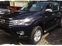 Toyota Hilux G 2018 Pickup Truck Manual
