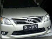 Jual Toyota Innova G Th 2013 Manual Silver asdk Tg1