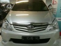 Toyota Kijang Innova G Luxury 2.5 cc. Diesel. 2009. Silver. MATIK. Istimewah