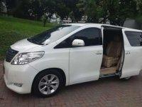 Toyota Alphard X 2.4L ANH20 2013 KM 83.000 Putih Sehat Bagus Mulus