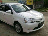 Toyota Etios Valco E MT 2013 Hitam