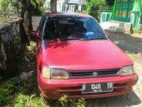 Jual Toyota Starlet SE 1.3 th.1992 (Starlet Kapsul Merah Metalik)