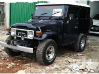 Toyota Land Cruiser 3.9 Manual 1982 Biru