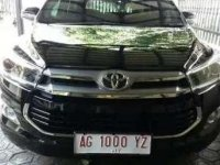 Dijual Mobil Toyota Kijang Innova V Luxury Tahun 2017