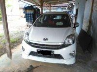 Jual Toyota Agya TRD Sportivo 2014 WHITE  A/T
