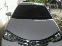 Jual Toyota Etios G 1.2 MT 2014