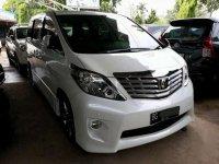 Toyota Alpahrd 2.4 Facelift 2011