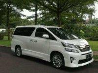 Jual Mobil Toyota Vellfire ZG Tahun 2014