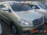 Jual Toyota Innova G Airbag 2000 AT 2014 Book Now!! Unit OK Banget