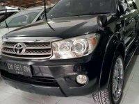 Toyota Fortuner G Luxury tahun.2008 Hitam metalic VR 22 croom