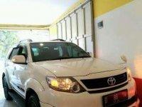 Toyota Fortuner 2014 pemakaian 2015 G TRD Luxury At bensin 2.7 istmw