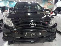 Dijual Toyota Fortuner vnt trd matic 2014 hitam