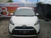 Bebas Banjir Diajamin Aman Bosku Toyota Sienta 1.5 V CVT 2016 Putih Mulus