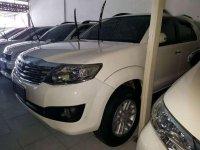 Toyota Fortuner G Luxury bensin 2012