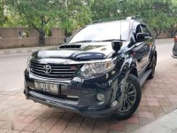 Toyota Fortuner 2.5 TRD VNT'2015 Diesel Hitam ISTIMEWA Paket Kredit terMURAH