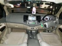 Toyota  Fortuner G VNT TRD Matic Hitam Sangar 2013