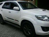 Dijual mobil Toyota Fortuner Sportivo Putih 2014