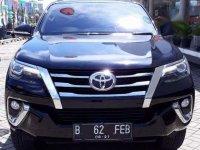 Toyota Fortuner VRZ AT 2016 HITAM METALIK km 23.217