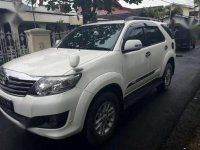 Toyota Fortuner 2012 G AT