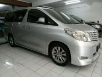 Toyota Alphard 2009 Silver Captain Seat 3.5 At