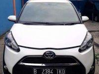Kondisi manteps Toyota Sienta V cvt at 2016 putih