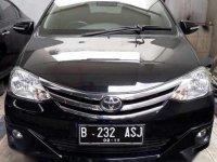 Jual Toyota Etios G thn 2014 hitam metalik