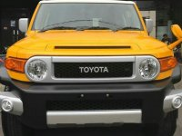 Jual Toyota FJ Cruiser Fj Qruiser 2017 berwarna Kuning