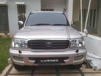 Jual Toyota Land Cruiser VX100 Limited tahun 2002