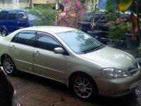 Jual Toyota Corolla Altis tahun 2005