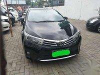 Jual Toyota Corolla Altis V 1.8 Matic tahun 2014 hitam langsung pakai