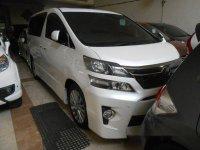Toyota Vellfire ZG AT Tahun 2014 Automatic