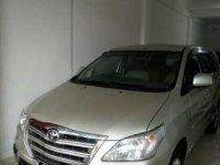 Toyota Kijang Innova G Luxury 2014