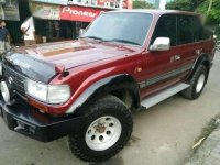 Toyota Land Cruiser VXR AT Diesel Tahun 1997 Merah Antik Istimewa