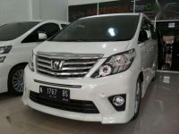 Toyota Alphard SC premium sound 2.4 AT 2014