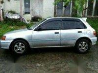 Toyota Starlet tahun 1992 Silver