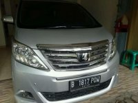 Toyota Alphard G AT Tahun 2012 Automatic