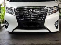Toyota Alphard G AT Tahun 2017 Automatic