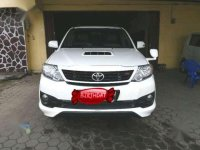 Toyota Fortuner TRD Sportivo MT Tahun 2015 Manual
