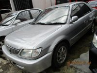 Toyota Soluna GLi 2002 Manual